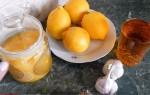 Рецепт молодости – лимон мед чеснок льняное масло