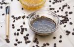 Использование кофе и меда для приготовления скраба