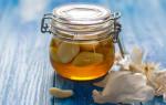 Эффективное средство чеснок с медом